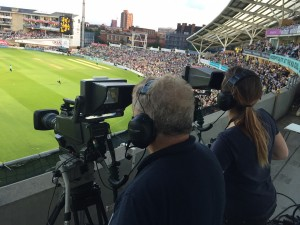 Our gantry cameras covering Surrey at the T20 Cricket